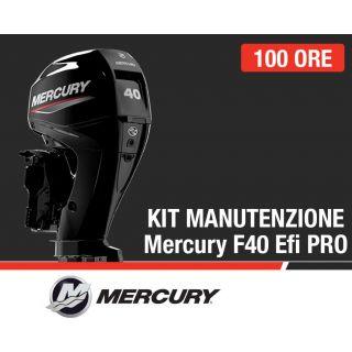 Kit Manutenzione annuale/100 ore Mercury F40 EFI Pro