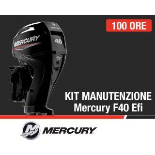 Kit Manutenzione annuale/100 ore Mercury F40 EFI Orion