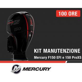 Kit Manutenzione annuale/100 ore Mercury F150 EFI e 150 ProXS