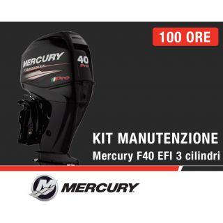 Kit Manutenzione annuale/100 ore Mercury F40 EFI 3 cilindri