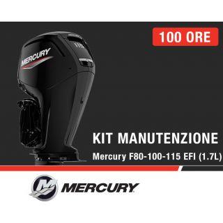 Kit Manutenzione annuale/100 ore Mercury F80-100-115 EFI (1.7L)